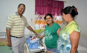 PREVIO A LA NAVIDAD PAPP SALUDO A INTERNOS DE LA ALCAIDÍA Y PACIENTES DEL HOSPITAL