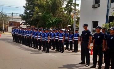 77 ALUMNOS DEL CURSO DE FORMACIÓN PARA AGENTES DE POLICÍAS AFECTADOS AL OPERATIVO FELICES FIESTAS EN EL SUDOESTE