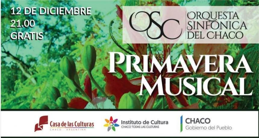 CIERRE ANUAL DEL CICLO DE MÚSICA DE CÁMARA PRIMAVERA MUSICAL