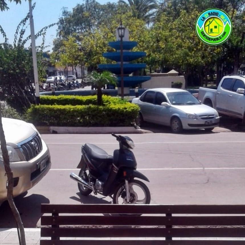 BORRACHO OLVIDO SU MOTOCICLETA, PERO A SU MADRE LE MINTIÓ QUE SE LA SECUESTRO LA POLICÍA