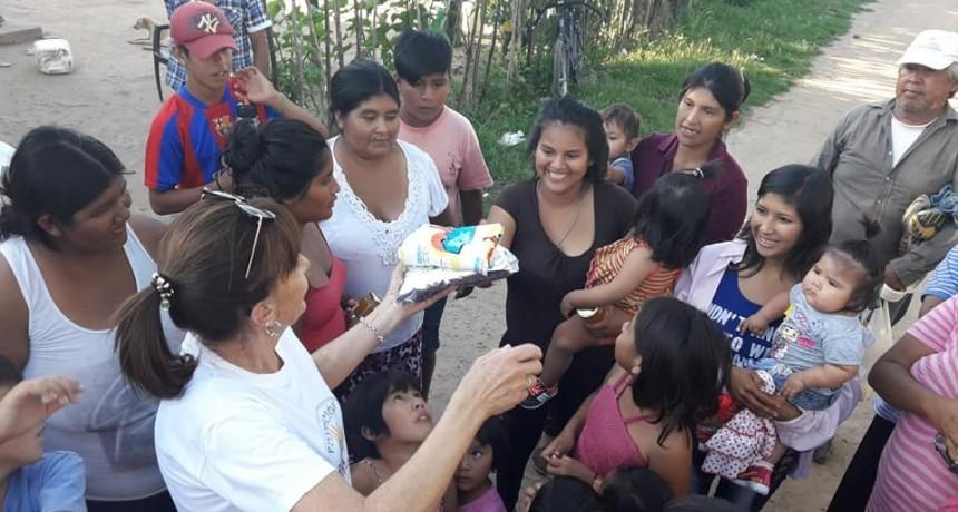 LA FUNDACIÓN OPORTUNIDADES ENTREGO BOLSINES NAVIDEÑOS CON PRODUCTOS DE PRIMERA NECESIDAD
