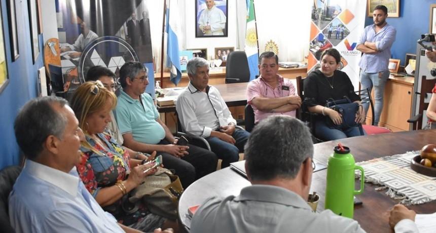 EL INTENDENTE PAPP SE REUNIO CON LOS NUEVOS CONCEJALES ELECTOS
