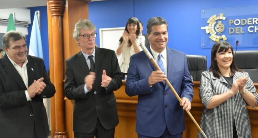 JURA DEL GOBERNADOR Y VICEGOBERNADORA DEL CHACO