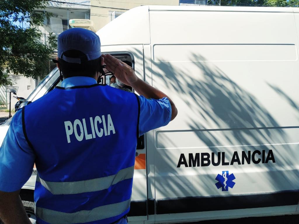 COVID-19: FALLECIÓ UN POLICÍA DE LA CIUDAD
