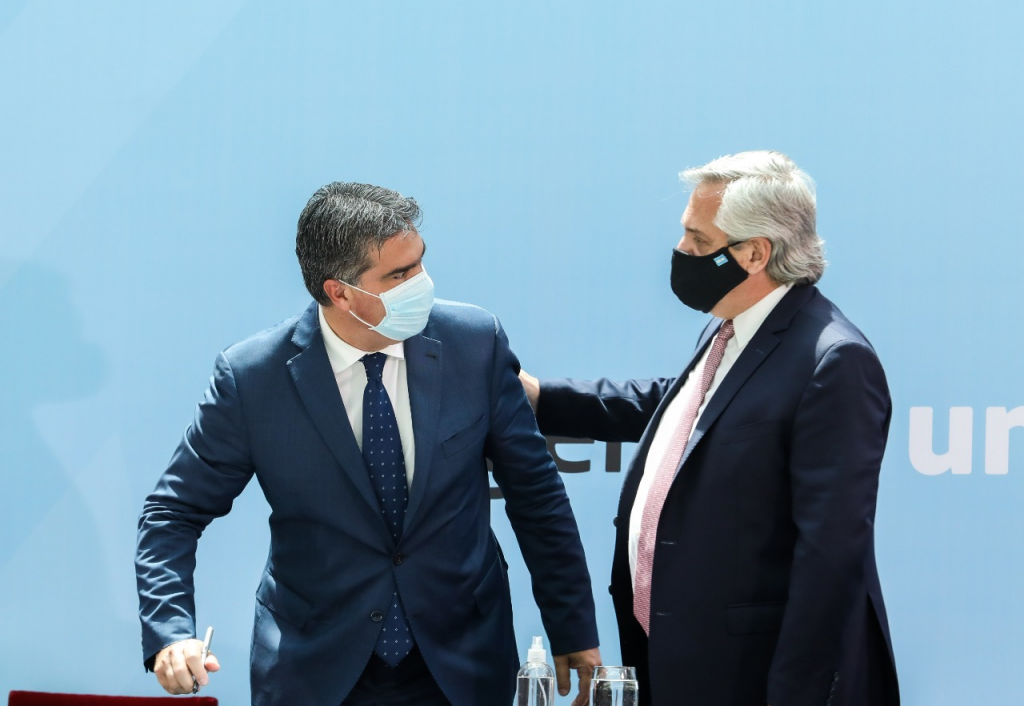 CAPITANICH FIRMÓ JUNTO CON EL PRESIDENTE ALBERTO FERNÁNDEZ Y GOBERNADORES DE TODAS LAS PROVINCIAS EL CONSENSO FISCAL 2020