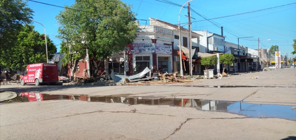 """EXPLOSIÓN EN LA CIUDAD: DETIENEN AL DUEÑO DE """"MATAFUEGOS VILLA ÁNGELA"""""""
