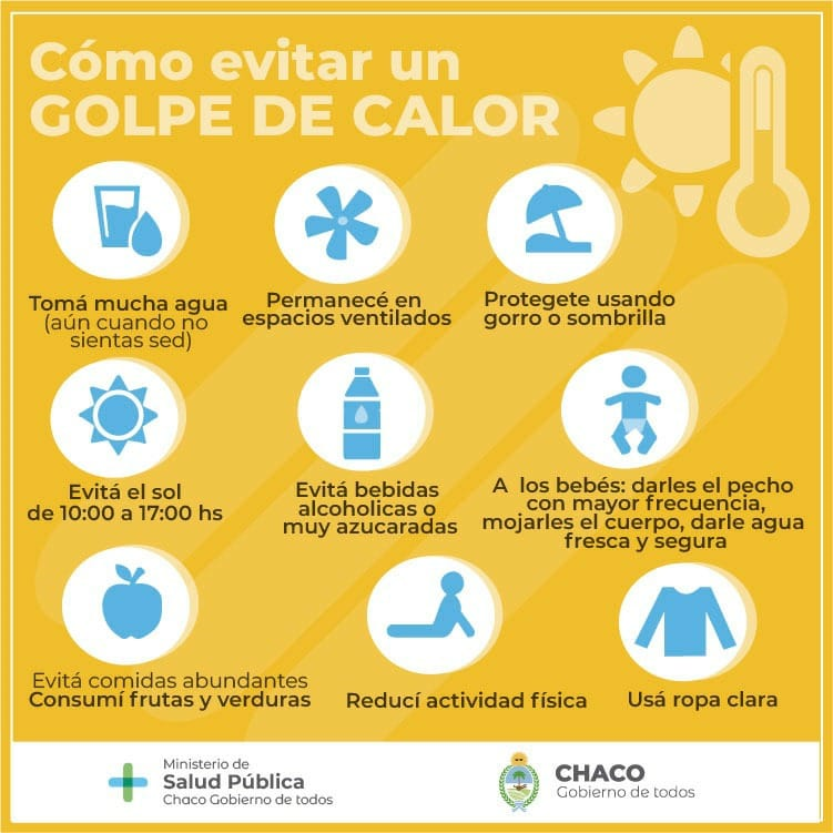 SALUD BRINDA CONSEJOS Y RECOMENDACIONES PARA PREVENIR GOLPES DE CALOR EN NIÑOS Y NIÑAS